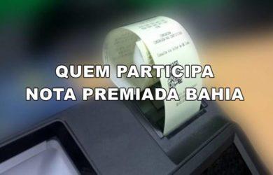 quem participa da nota premiada Bahia