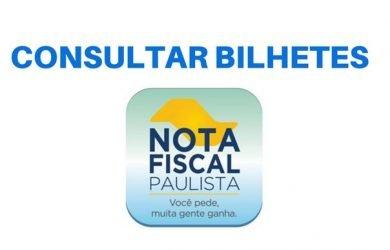 Consultar bilhetes da Nota Fiscal Paulista